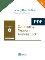 Community Network Analysis Tool
