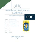 Columna Estratigráfica de Cajamarca