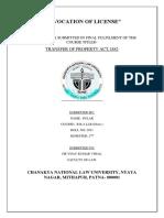 Revocation of License