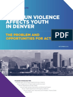 Denver Public Health Youth Gun Violence Report 2019
