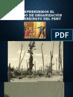 Organización del Virreinato del Perú