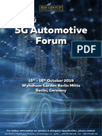 5G Automotive_2nd_Oct 2019_Berlin