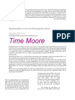 Time Moore Exploiting Moore s Law From the Perspective of Time