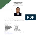 Perfil Profesional Jhon Jairo