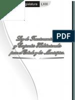 Ley de Fraccionamientos y Conjuntos Habitacionales Para El Estado y Municipios de Chiapas