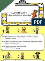 Fichas Comprension Lectora Usaer