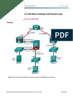 ASA 5506 10-1-4-8 Lab a - Configure ASA Basic Settings and Firewall Using ASDM