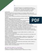 CODIGO ETICO PSICOLOGIA
