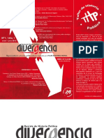Revista Divergencia Enero Junio 2012