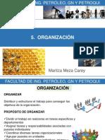 5. ORGANIZACIÓN