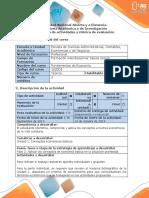 Guía de Actividades y Rubrica de Evaluación - Fase 2 - Aplicar Los Conceptos de Economía Básica en La Situación Planteada (1)