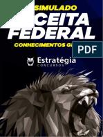 1º Simulado Receita Federal - Conhecimento Gerais - Estratégia - 2019