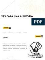 Tips Para Una Auditoria