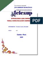 Comunicacion Empresarial-trabajo Mografico