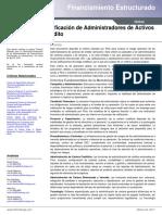 Administracion de riesgos de activos financieros