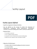How to find Facility Layout