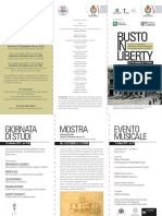 Busto in Liberty - Depliant