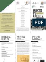 Busto in Liberty - Depliant