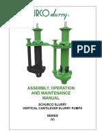 Manual Técnico de bomba vertical SCHURCO