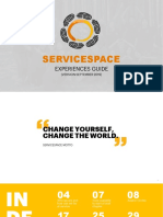 Servicespace Experiences Guide Sep2019