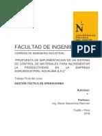 Informe Tactica 2.0 Introducción