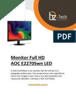 Manual Monitor Aoc e2270swn