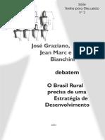 Brasil rural precisa de uma estratégia de desenvolvimento