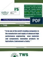 TWS - AFP - Sugar Industry