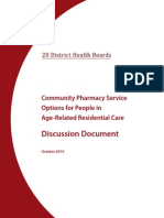 ARRC Pharmacy Discussion Document 2010-11-03