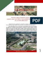La Villa de Adriano Tivoli
