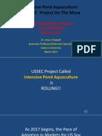 Chappell Presentation at Aquaculture Advisory Council Mtg