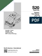 Manual de partes barredora Tennant S20