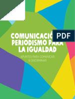 Comunicacion Periodismo Para Igualdad