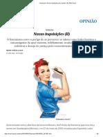Feminismo_ Novas Inquisições (II) _ Opinião _ EL PAÍS Brasil