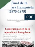 Franco El Fin de Una Dictadura