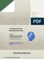 5.- La Filosofía Jurídica 02.2018