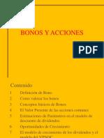 Bonos y Acciones