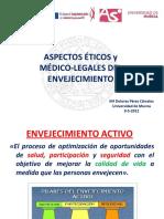 Aspectos Medicos Legales de La Enfe Gerontologica