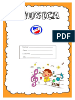 CUADERNO DE MÚSICA 1º BÁSICOS 2019