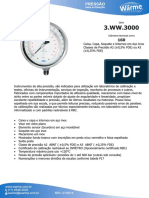 cotação manometro para medição