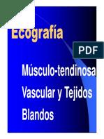 20.- Ecografía Musculo Esquelética