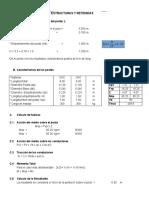 4.7 Calculo de Estructuras y Retenidas