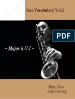 Jazz vocabulary