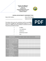 School Accountability Assessment Tool