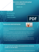 Proteccion dentinopulpar/Ionomeros