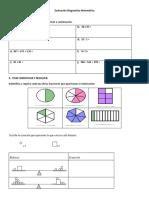 Evaluacion Diagnostica 7 Basico