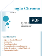Tutorial Google Chrome