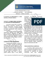8. MÓDULO I – BRASIL COLÔNIA_O processo de independência a vinda da Corte, o Período Joanino.pdf