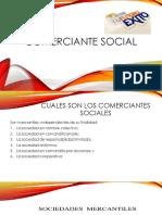 Diapositiva Comerciante Social Mercantil i