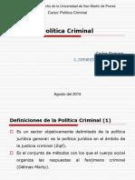 Generalidades Política Criminal